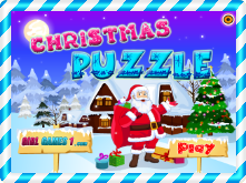 Christmas puzzle online game